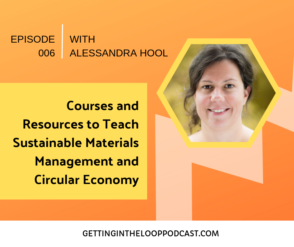 Resources to Teach Circular Economy with Alessandra Hool | Getting In the Loop Podcast