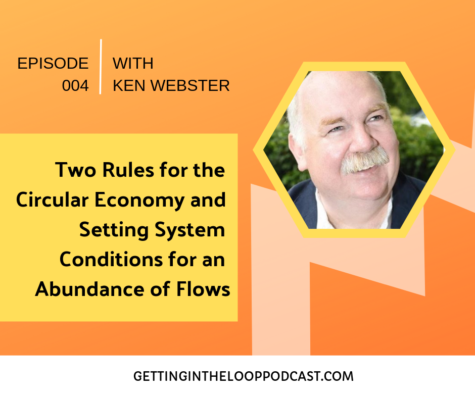 Two Rules for the Circular Economy with Ken Webster | Getting in the Loop Podcast