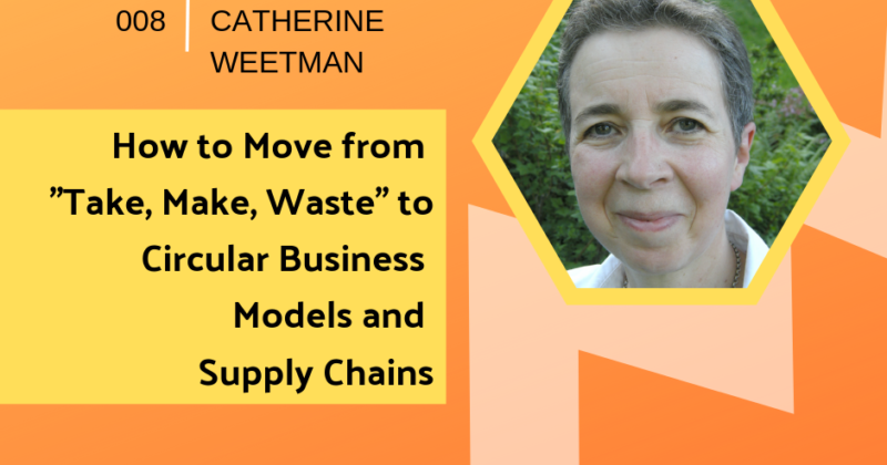 Moving to Circular Business and Supply Chains with Catherine Weetman | Getting in the Loop Podcast