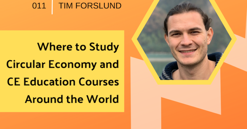 Where to Study Circular Economy with Tim Forslund | Getting in the Loop Podcast
