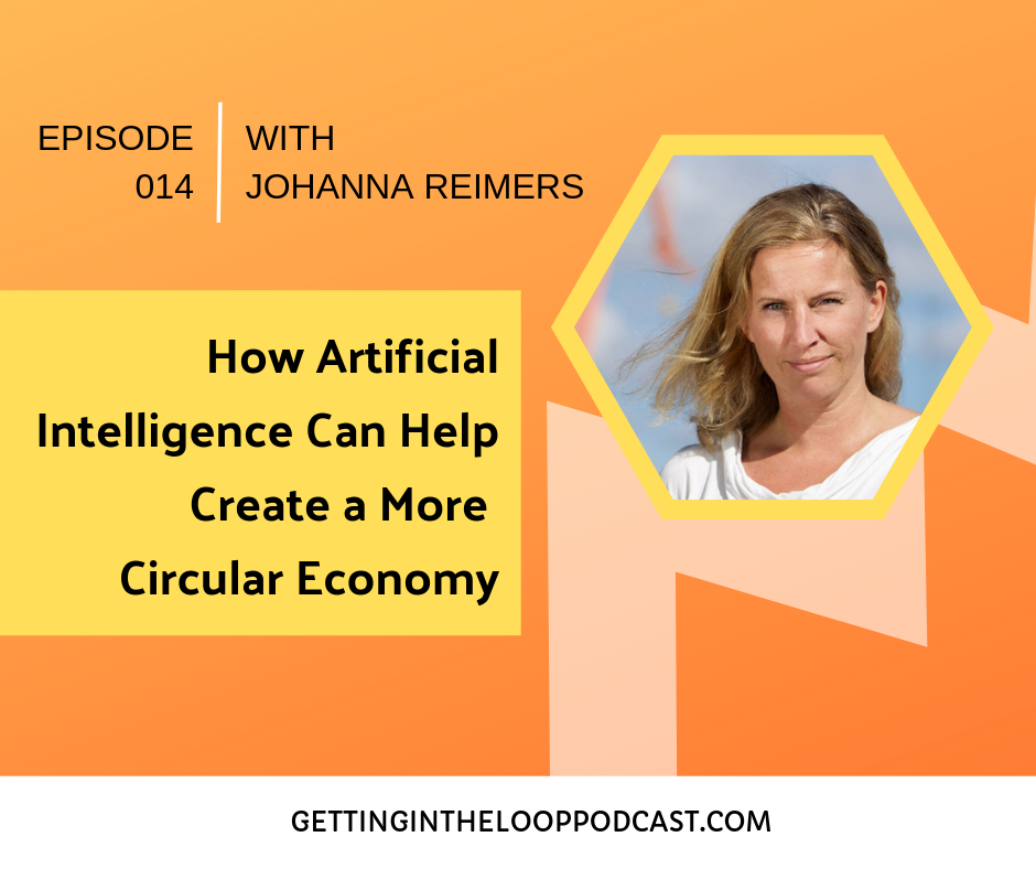 Artificial Intelligence and Circular Economy with Johanna Reimers | Getting in the Loop Podcast
