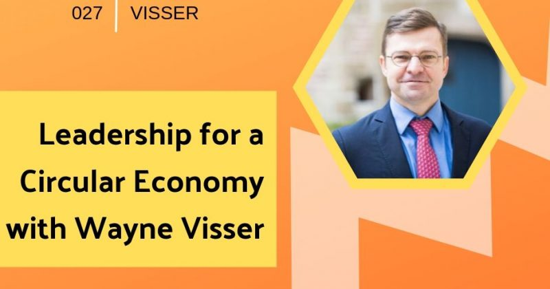 Leadership for a Circular Economy with Wayne Visser | Getting in the Loop Podcast