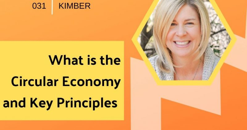 What is the Circular Economy and Key Principles with Rebecca Kimber | Getting in the Loop Podcast